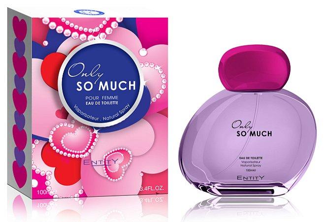 Only So Much Perfume Entity Feminino Eau De Toilette 100ml