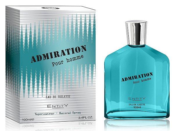 Admiration Perfume Entity Masculino Eau De Toilette 100ml