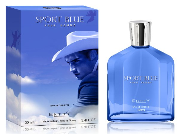Sport Blue Perfume Entity Masculino Eau De Toilette 100ml