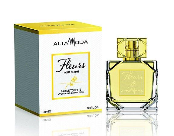 Fleurs Perfume Alta Moda Feminino Eau de Toilette 90 ml