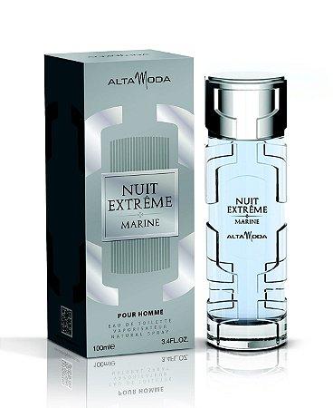 Nuit Extrême Marine Perfume Alta Moda Masculino Eau de Toilette 100 ml