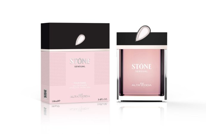 Stone Sensual Perfume Alta Moda Feminino EDT 100 ml