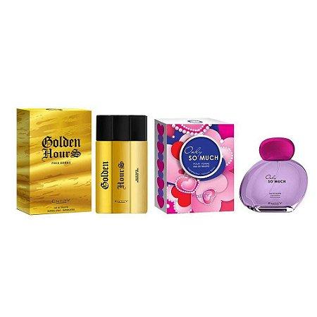 Kit 2 Perfumes Entity Feminino e Masculino 100 ml cada