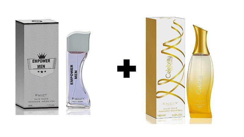 Perfume Entity Empower Men 30ml + Perfume Entity Celebrity Gold 100 ml