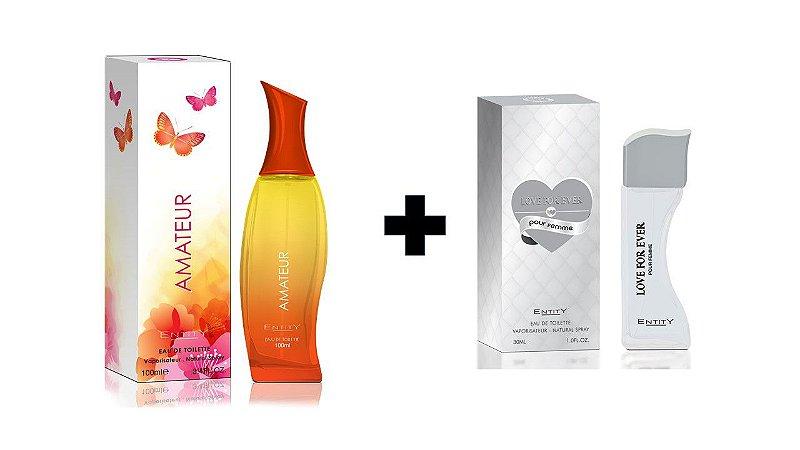 Perfume Entity Love For Ever 30ml + Perfume Entity Amateur 100 ml