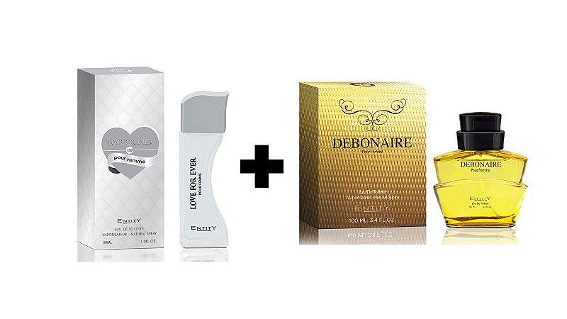 Perfume Entity Love For Ever 30ml + Perfume Entity Debonaire 100 ml