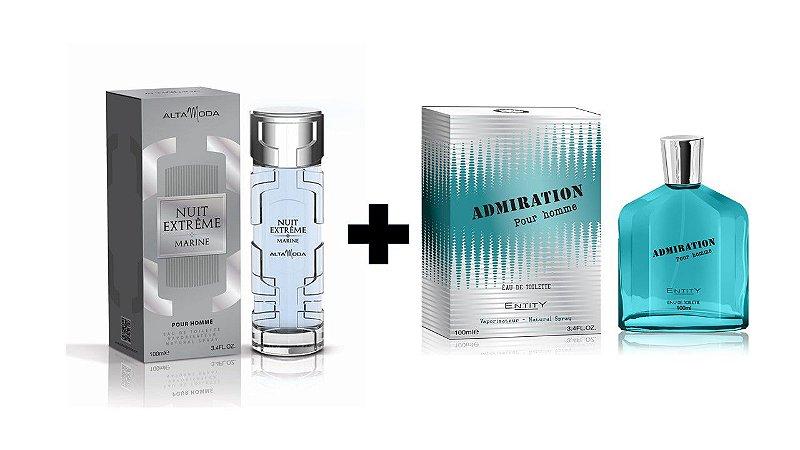Perfume Entity Nuit Extreme Marine 100ml + Perfume Entity Admiration 100 ml