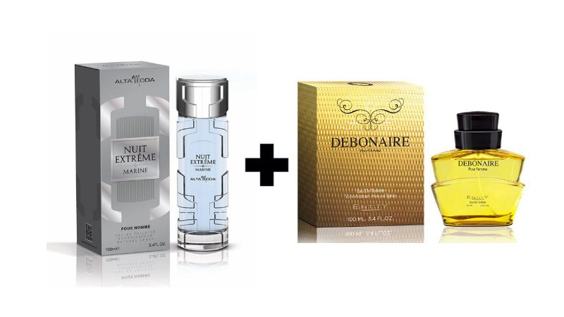 Perfume Entity Nuit Extreme Marine 100ml + Perfume Entity Debonaire 100 ml