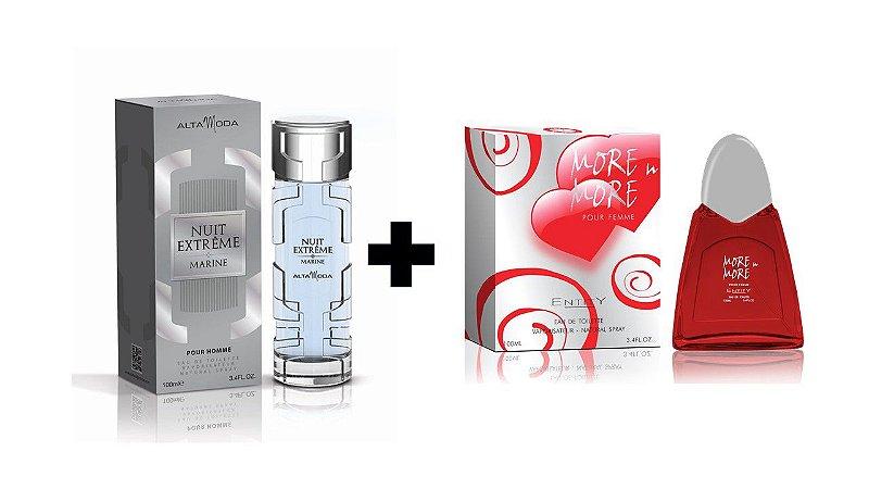 Perfume Entity Nuit Extreme Marine 100ml + Perfume Entity More In More 100 ml