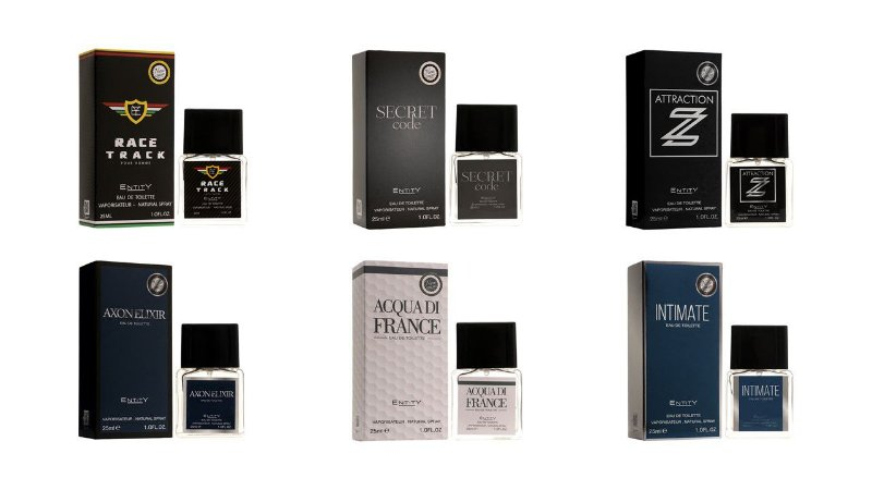 Kit Entity Nem Concepty 25ml 6 pçs - Masculino Conforme foto