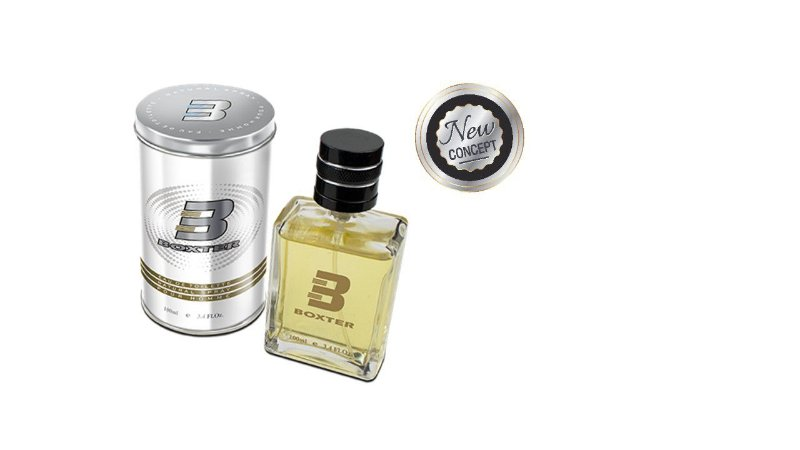 Perfume Boxter White NEW CONCEPT Eau Toilette 100 ml Metalbox