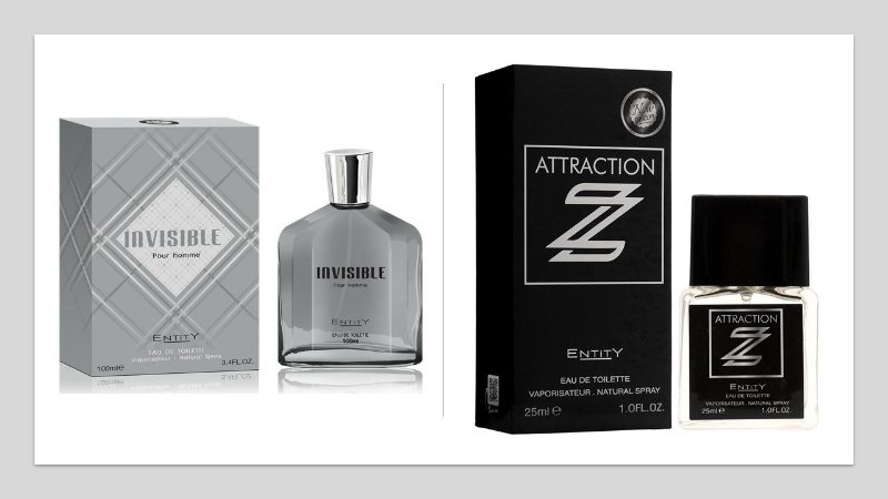 "Perfume Invisible Hom 100ml + 1 Perfume Attraction ""Z"" 25 ml New Concept"