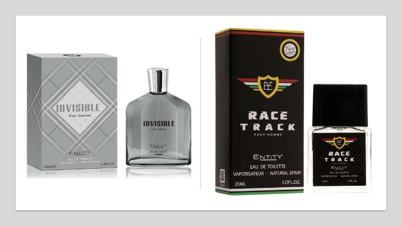 Perfume Invisible Hom 100ml + 1 Perfume Race Track 25 ml New Concept