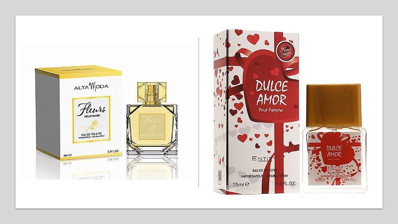 Perfume Fleurs Alta moda 100ml + 1 Perfume Dulce Amor 25 ml New Concept