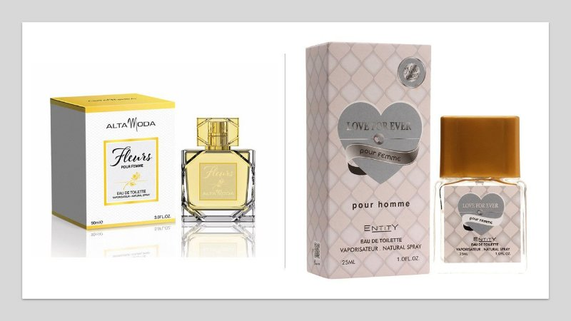 Perfume Fleurs Alta moda 100ml + 1 Perfume Love For Ever 25 ml New Concept