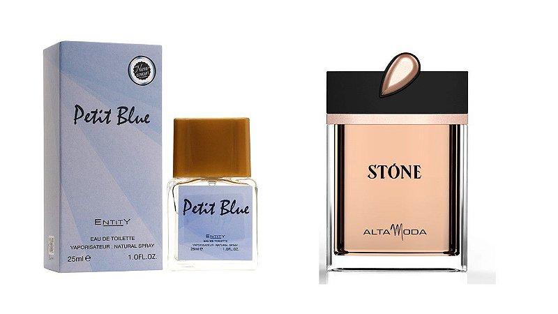 PETIT BLUE 25ML + STONE 100 ML SEM CAIXA