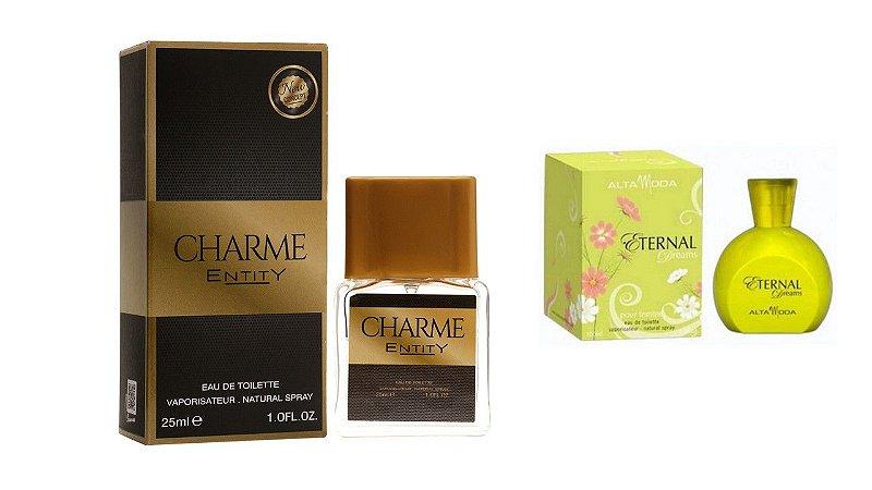 PERFUME CHARME 25 ML + PERFUME ETERNAL 100ML - OFERTA ESPECIAL