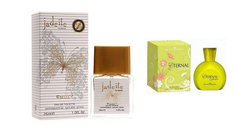 PERFUME JADEITE 25 ML + PERFUME ETERNAL 100ML - OFERTA ESPECIAL