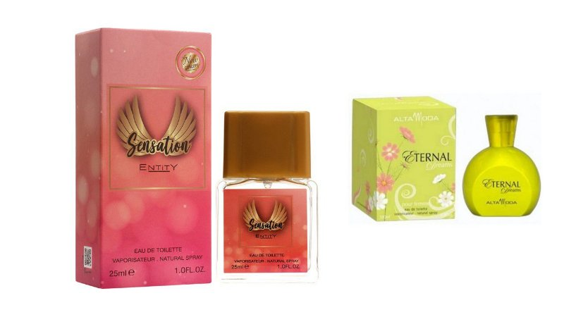 PERFUME SENSATION 25 ML + PERFUME ETERNAL 100ML - OFERTA ESPECIAL