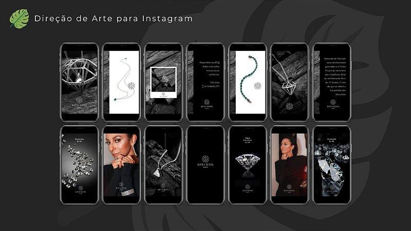 Direção de Arte para Instagram