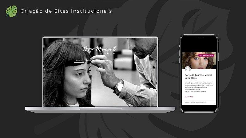Criação de Site Institucional e/ou Loja Virtual