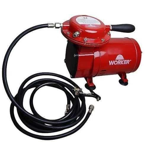 Compressor de Ar Direto 1/2HP 50PSI Bivolt com Kit para Pintura - WORKER