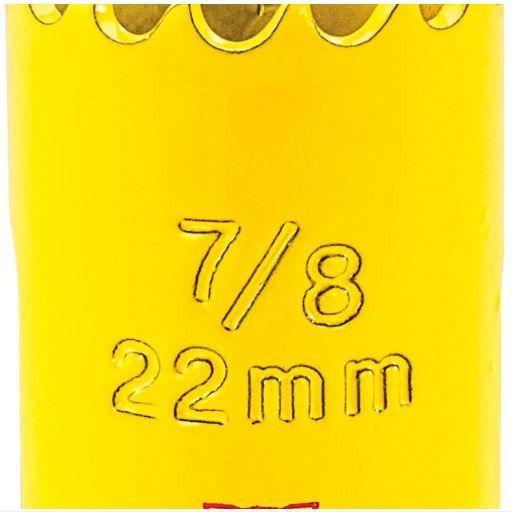 """SERRA COPO AR 22mm - 7/8"""" - STARRETT"""