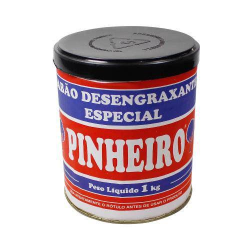 PASTA DESENGRAXANTE ABRASIVA 1KL - PINHEIRO CX COM 12Un.