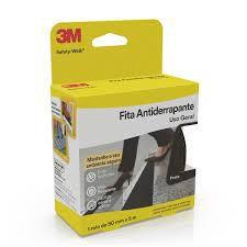 FITA ANTIDERRAPANTE 50MMX5M PRETA  - 3M