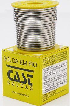 ESTANHO 50X50 FIO 1,0MM CARRETEL 500g
