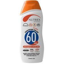 BLOQUEADOR SOLAR UV FPS 60 120G - NUTRIEX