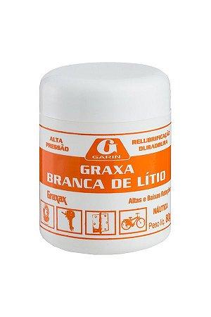 GRAXA BRANCA DE LÍTIO 80gr - GARIN