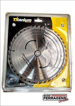 SERRA CIRCULAR 235mm (9.1,4) 40D - TITANIUM