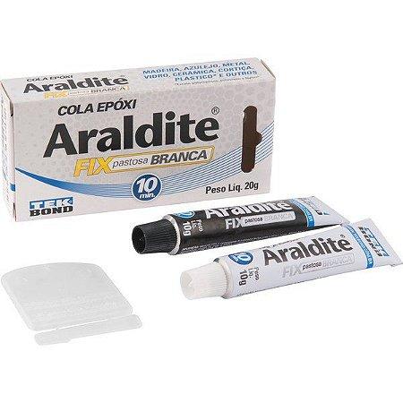 ARALDITE 20GR 10min. fix-PASTOSA BRANCA - TEK BOND