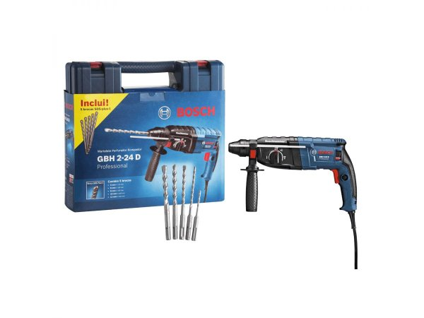 Martelete Perfurador GBH 2-24D - Bosch
