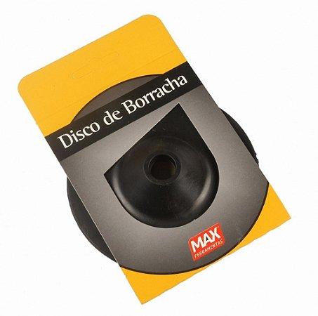 """Disco de Borracha Flexível 7"""" - MAX"""