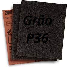 Folha Lixa Ferro 3M™ 221T, grão P36 - 3M * (cada 10 unidades)*