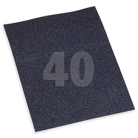 Folha Lixa Ferro 3M™ 221T, grão P40 - 3M *(cada 10 unidades)*