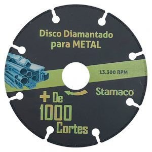 Disco para Metal Mil Cortes 115mm - STAMACO