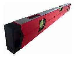 Nível Alumínio Profissional 100cm Base Magnética 3 Bolhas