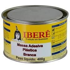 MASSA ADESIVA PLÁSTICA 400G - IBERÊ