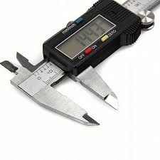 "Paquímetro Digital em Aço Inoxidável 6""150mm c/  Estojo - JOMARCA"
