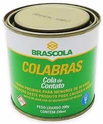 COLA DE CONTATO COLABRAS 200g - BRASCOLA