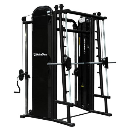 CROSSOVER ANGULADO COM SMITH MACHINE