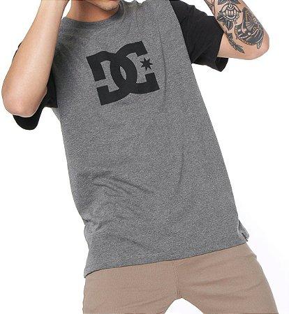 e43c2bb94226e Camisa DC Bas Stars 2 Cinza - River Skate Shop