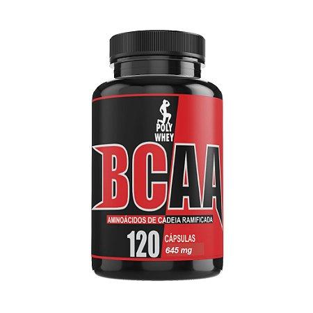 BCAA - 120 cápsulas -  645mg
