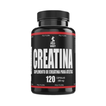 CREATINA - 120 CÁPSULAS - 500mg