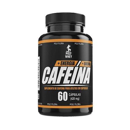 CAFEÍNA - 60 CÁPSULAS - 420mg