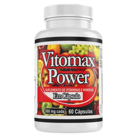 VITOMAX POWER - 60 cápsulas -  500mg