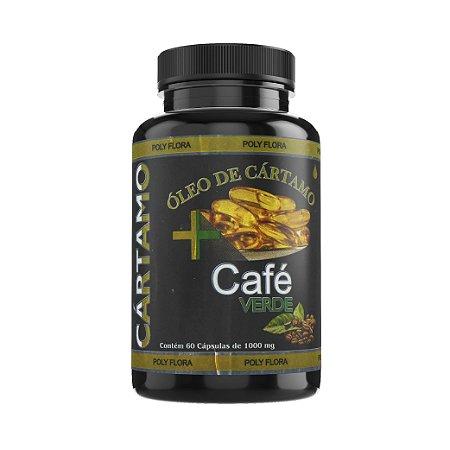 ÓLEO DE CÁRTAMO + CAFÉ VERDE - 1000mg